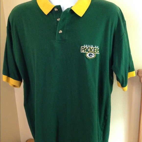 Vintage  98 Green Bay Packers Polo Shirt Sz L 1d7768268